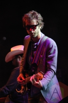 Daniel Romano performing at the Wolfe Island Music Festival on Aug. 7, 2015. (Photo: Curtis Sindrey/Aesthetic Magazine)