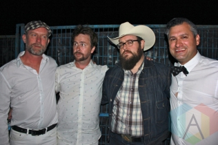 Elliott Brood at the Wolfe Island Music Festival. (Photo: Curtis Sindrey/Aesthetic Magazine)