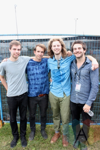 Lost Cousins at the Wolfe Island Music Festival. (Photo: Curtis Sindrey/Aesthetic Magazine)