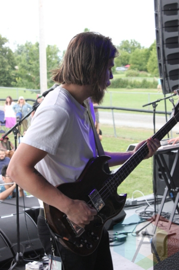 Highs performing at the Wolfe Island Music Festival on Aug. 8, 2015. (Photo: Curtis Sindrey/Aesthetic Magazine)