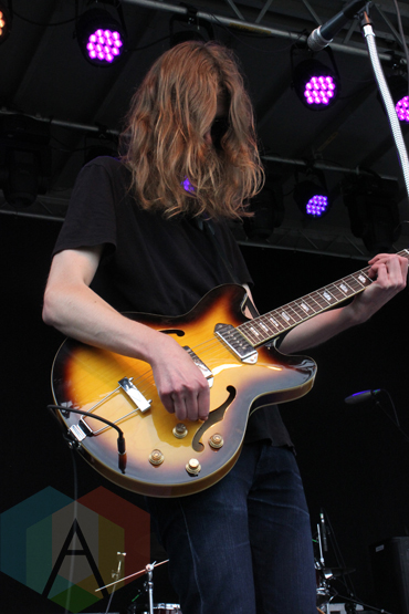 Taylor Knox performing at the Wolfe Island Music Festival on Aug. 8, 2015. (Photo: Curtis Sindrey/Aesthetic Magazine)