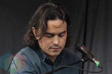 Moonface performing at the Wolfe Island Music Festival on Aug. 8, 2015. (Photo: Curtis Sindrey/Aesthetic Magazine)