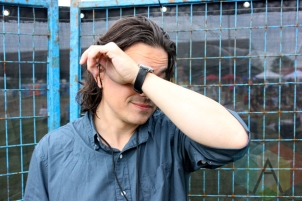 Moonface at the Wolfe Island Music Festival. (Photo: Curtis Sindrey/Aesthetic Magazine)