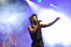 Kwabs performing at Leeds Festival 2015 on Aug. 28, 2015. (Photo: Priti Shikotra/Aesthetic Magazine)
