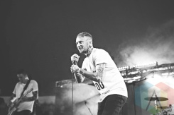 Frank Carter and The Rattlesnakes performing at Leeds Festival 2015 on Aug. 28, 2015. (Photo: Priti Shikotra/Aesthetic Magazine)