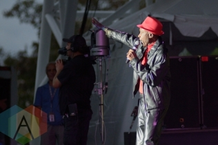 Jay Douglas performing at the CNE in Toronto, ON, on August 27, 2015. (Photo: Steve Danyleyko/Aesthetic Magazine)