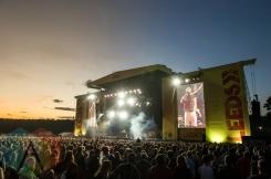 Kendrick Lamar performing at Leeds Festival 2015 on Aug. 28, 2015. (Photo: Marc Sethi)