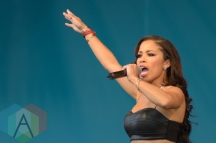 Keshia Chante performing at Jambana in Markham, ON, on August 3, 2015. (Photo: Steve Danyleyko/Aesthetic Magazine)