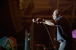 Leroy Sibbles performing at the CNE in Toronto, ON, on August 27, 2015. (Photo: Steve Danyleyko/Aesthetic Magazine)