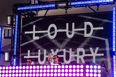Loud Luxury performing at VELD Music Festival 2015. (Photo: Theo Rallis/Aesthetic Magazine)