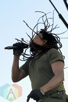 Luciano performing at Toronto Reggae Fest in Toronto, ON, on August 15, 2015. (Photo: Steve Danyleyko/Aesthetic Magazine)