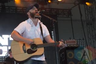 MacArthur Clark performing at Boots and Hearts 2015 on Aug. 8, 2015. (Photo: Alyssa Balistreri/Aesthetic Magazine)