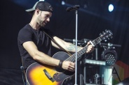Chad Brownlee performing at Boots and Hearts 2015 on Aug. 8, 2015. (Photo: Alyssa Balistreri/Aesthetic Magazine)