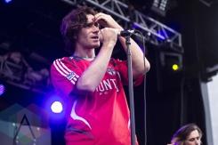 Coasts performing at Sherbourne Common in Toronto, ON on Aug. 1, 2015. (Photo: Alyssa Balistreri/Aesthetic Magazine)