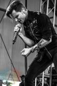 Frankie Ballard performing at Boots and Hearts 2015 on Aug. 9, 2015. (Photo: Alyssa Balistreri/Aesthetic Magazine)