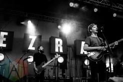 George Ezra performing at Sherbourne Common in Toronto, ON on Aug. 1, 2015. (Photo: Alyssa Balistreri/Aesthetic Magazine)