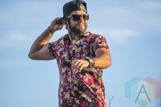 Thomas Rhett performing at Boots and Hearts 2015 on Aug. 9, 2015. (Photo: Alyssa Balistreri/Aesthetic Magazine)