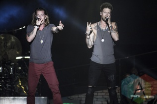 Florida Georgia Line performing at Boots and Hearts 2015 on Aug. 9, 2015. (Photo: Alyssa Balistreri/Aesthetic Magazine)