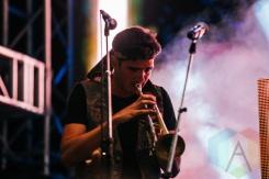 The Funk Hunters performing at Squamish Music Festival on Aug. 6, 2015. (Photo: Steven Shepherd/Aesthetic Magazine)