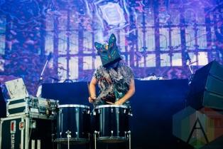 Slow Magic performing at the Squamish Music Festival on Aug. 7 , 2015. (Photo: Steven Shepherd/Aesthetic Magazine)