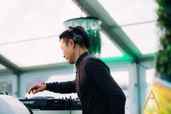 Kevin Shiu performing at the Squamish Music Festival on Aug. 7 , 2015. (Photo: Steven Shepherd/Aesthetic Magazine)