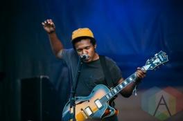 Benjamin Booker performing at the Squamish Music Festival on Aug. 7 , 2015. (Photo: Steven Shepherd/Aesthetic Magazine)