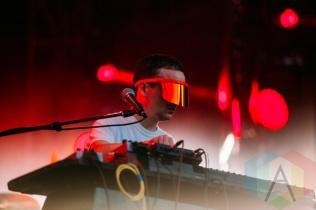 Hot Chip performing at the Squamish Music Festival on Aug. 7 , 2015. (Photo: Steven Shepherd/Aesthetic Magazine)