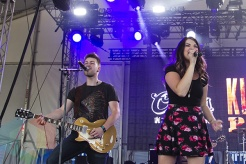 Jess Moskaluke performing at Boots and Hearts 2015 on Aug. 6, 2015. (Photo: Alyssa Balistreri/Aesthetic Magazine)