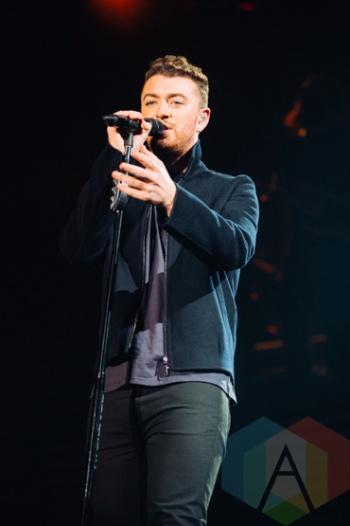 Sam Smith performing at the Squamish Music Festival on Aug. 7 , 2015. (Photo: Steven Shepherd/Aesthetic Magazine)