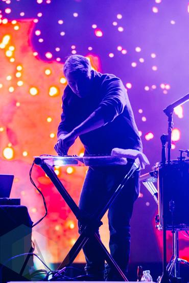 Odesza performing at the Squamish Music Festival on Aug. 7 , 2015. (Photo: Steven Shepherd/Aesthetic Magazine)