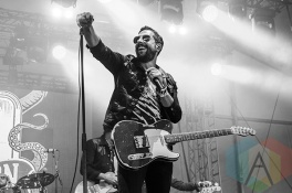 Old Dominion performing at Boots and Hearts 2015 on Aug. 6, 2015. (Photo: Alyssa Balistreri/Aesthetic Magazine)