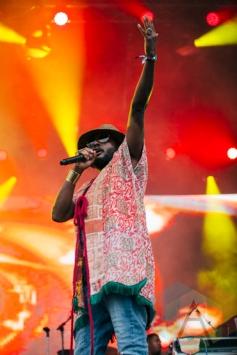 K-OS performing at the Squamish Music Festival on Aug. 8, 2015. (Photo: Steven Shepherd/Aesthetic Magazine)