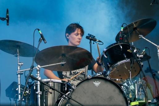 Black Rebel Motorcycle Club performing at the Squamish Music Festival on Aug. 8, 2015. (Photo: Steven Shepherd/Aesthetic Magazine)
