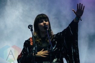 Of Monsters And Men performing at the Squamish Music Festival on Aug. 8, 2015. (Photo: Steven Shepherd/Aesthetic Magazine)