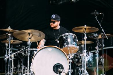 Royal Blood performing at the Squamish Music Festival on Aug. 9, 2015. (Photo: Steven Shepherd/Aesthetic Magazine)