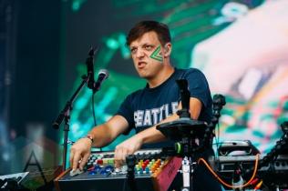 Robert Delong performing at the Squamish Music Festival on Aug. 9, 2015. (Photo: Steven Shepherd/Aesthetic Magazine)