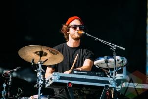 Milky Chance performing at the Squamish Music Festival on Aug. 9, 2015. (Photo: Steven Shepherd/Aesthetic Magazine)