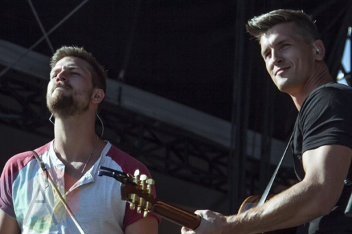 High Valley performing at Boots and Hearts 2015 on Aug. 7, 2015. (Photo: Alyssa Balistreri/Aesthetic Magazine)