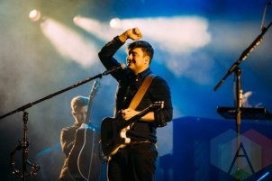 Mumford and Sons performing at the Squamish Music Festival on Aug. 9, 2015. (Photo: Steven Shepherd/Aesthetic Magazine)