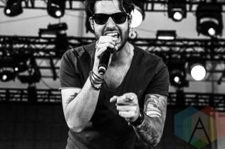 Austin Webb performing at Boots and Hearts 2015 on Aug. 7, 2015. (Photo: Alyssa Balistreri/Aesthetic Magazine)