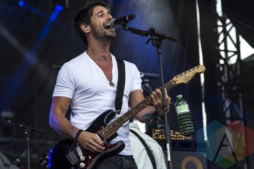 Jesse Labelle performing at Boots and Hearts 2015 on Aug. 8, 2015. (Photo: Alyssa Balistreri/Aesthetic Magazine)