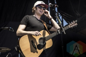 Wes Mack performing at Boots and Hearts 2015 on Aug. 9, 2015. (Photo: Alyssa Balistreri/Aesthetic Magazine)