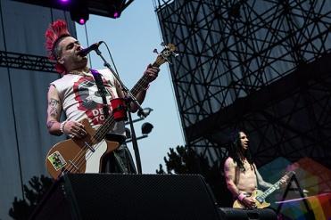 NOFX performing at Echo Beach in Toronto on Aug. 6, 2015. (Photo: Theo Rallis/Aesthetic Magazine)
