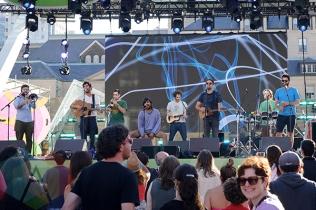 Onda Vaga performing at Panamania 2015 in Toronto, ON on Aug. 8, 2015. (Photo: Julian Avram/Aesthetic Magazine)