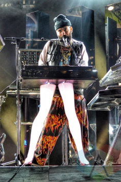 Chromeo performing at Panamania 2015 in Toronto, ON on Aug. 7, 2015. (Photo: Justin Roth/Aesthetic Magazine)