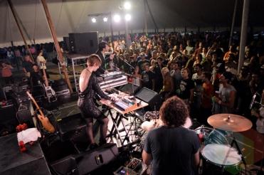 Operators performing at Riverfest Elora 2015 on Aug. 14, 2015. (Photo: Justin Roth/Aesthetic Magazine)