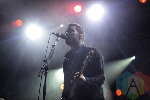 Sam Roberts Band performing at Riverfest Elora 2015 on Aug. 14, 2015. (Photo: Justin Roth/Aesthetic Magazine)