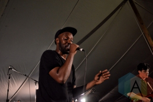 Shad performing at Riverfest Elora 2015 on Aug. 15, 2015. (Photo: Justin Roth/Aesthetic Magazine)