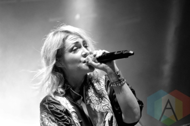 Metric performing at Riverfest Elora 2015 on Aug. 15, 2015. (Photo: Justin Roth/Aesthetic Magazine)