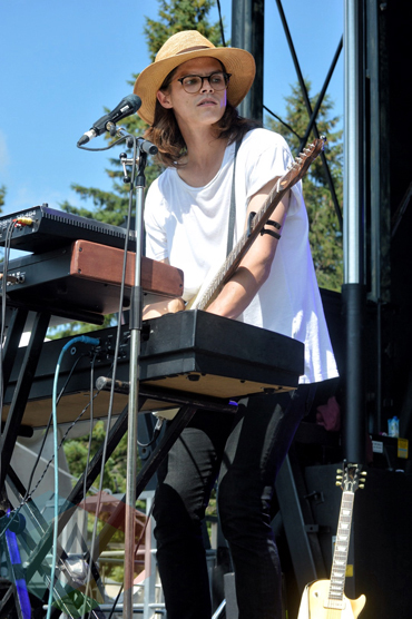 The Wooden Sky performing at Riverfest Elora 2015 on Aug. 15, 2015. (Photo: Justin Roth/Aesthetic Magazine)